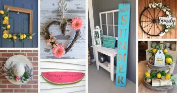 Summer Farmhouse Decorations