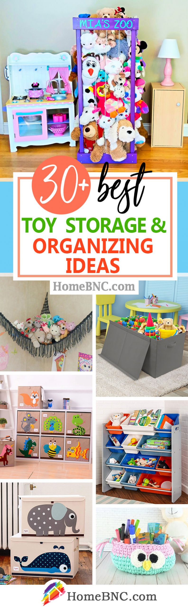 Toy Organizing Ideas