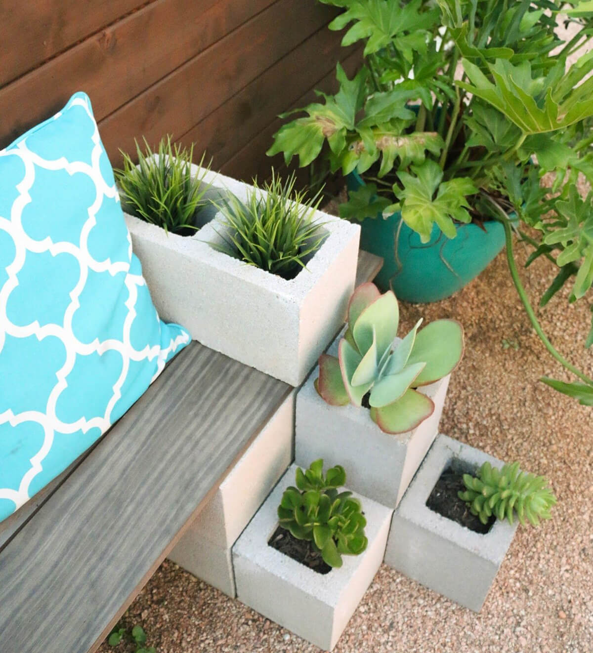 9 Best Cinder Block Outdoor Projects Ideas And Designs For 2020