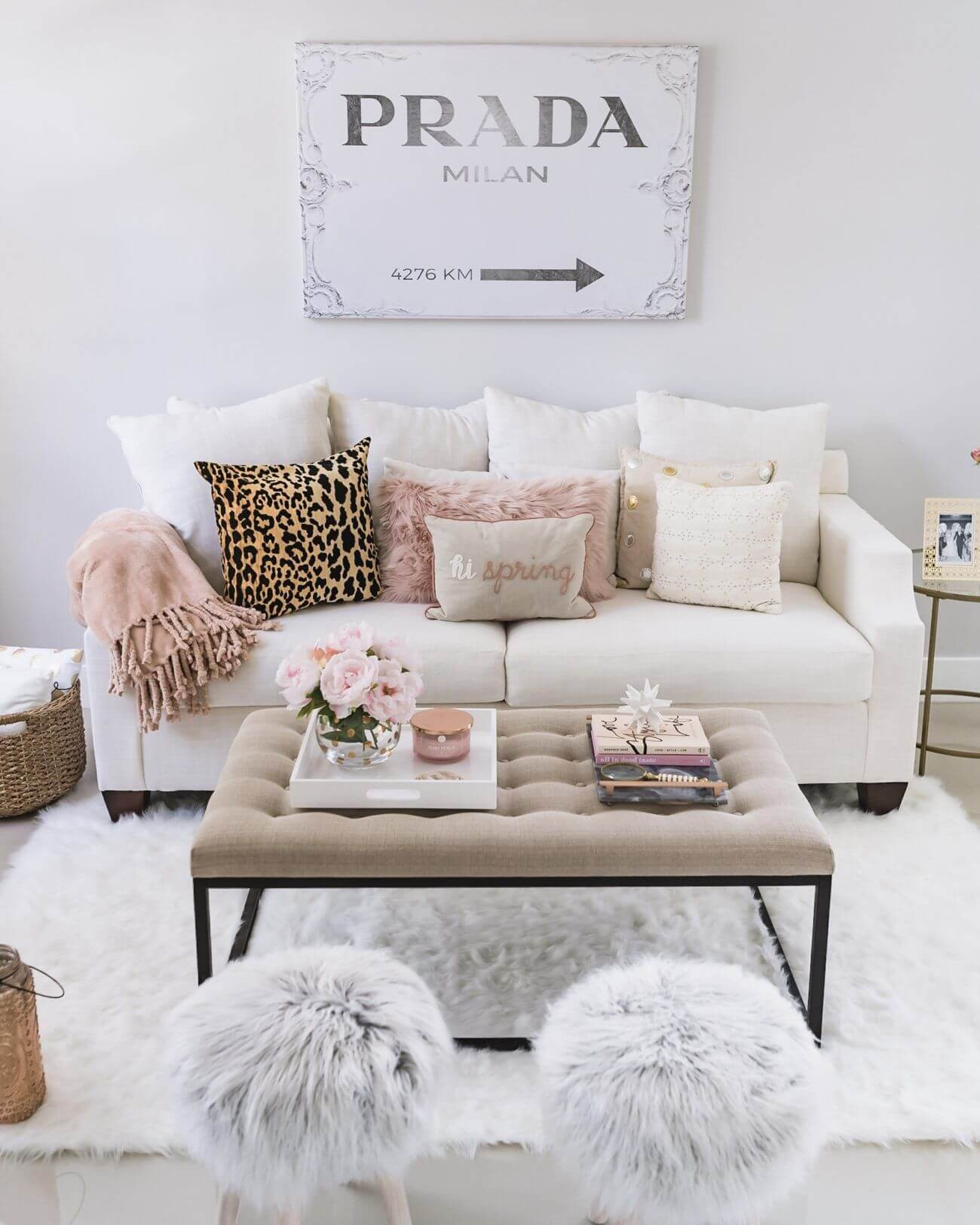 Light and Airy Color Scheme with Textures