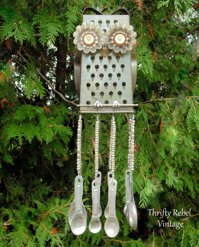 """""""Junk"""" Chime with Grater and Spoons"""