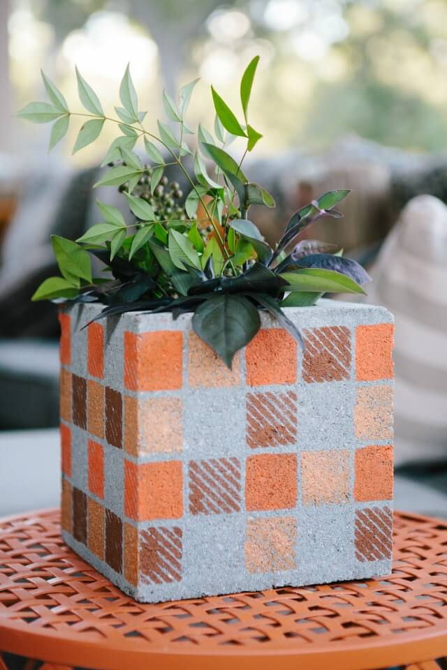 Concrete Vases Perfect for Year-Round Décor