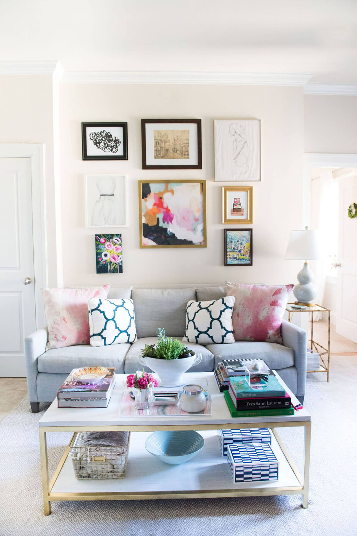 Chic and Eclectic Color Without Clutter