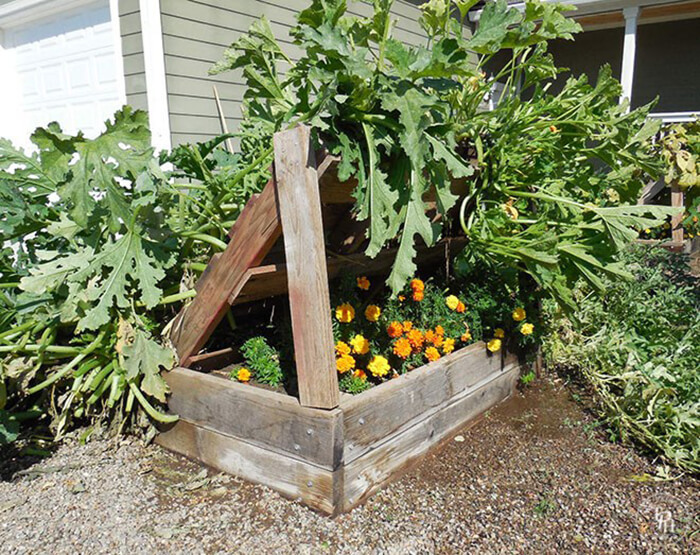 Planter Box Growing Racks for Gardening