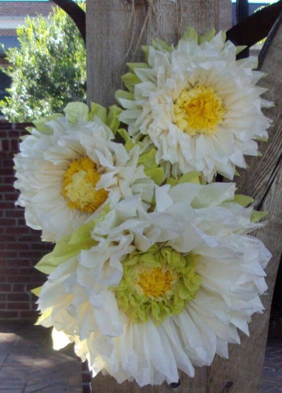 Giant Lifelike Bright and Beautiful Sunflowers