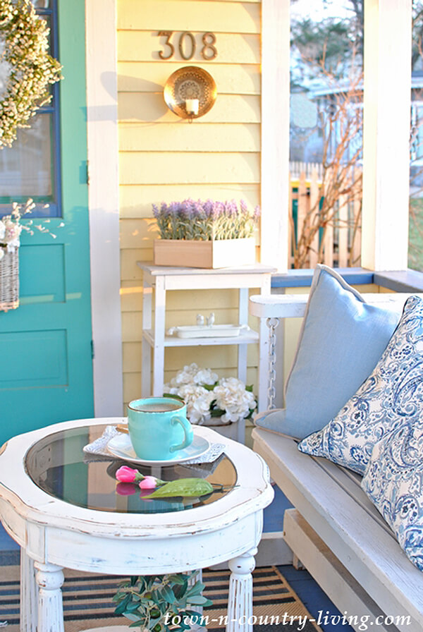Romantic Light Blue Easy Summer Design