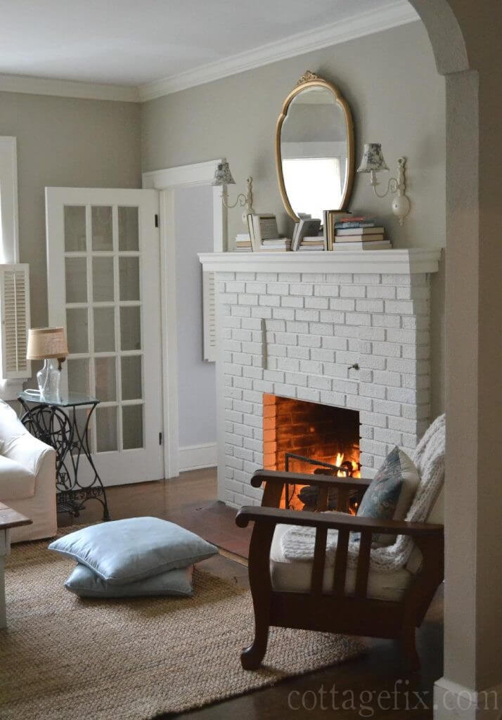 Cozy Hearth and Reading Chair