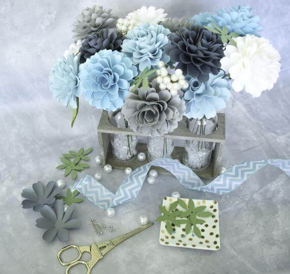 32 Best Paper Flower Decoration Ideas And Designs For 2019