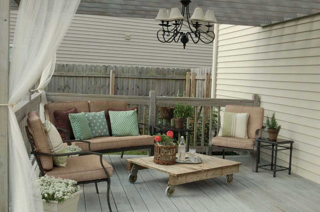All Natural Rustic Patio Furniture