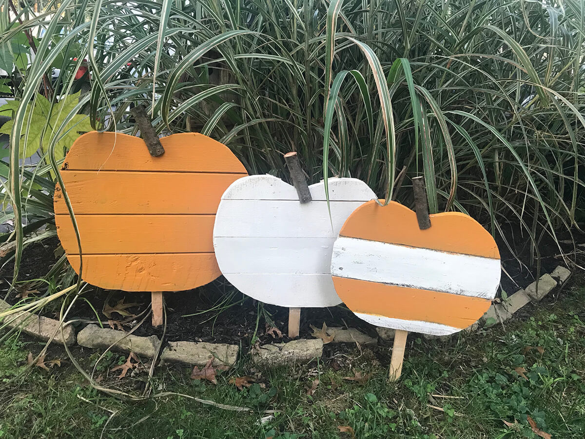 Reclaimed Wooden Halloween Yard Art