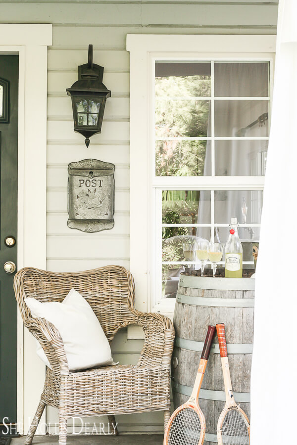Farmhouse Chic Front Porch