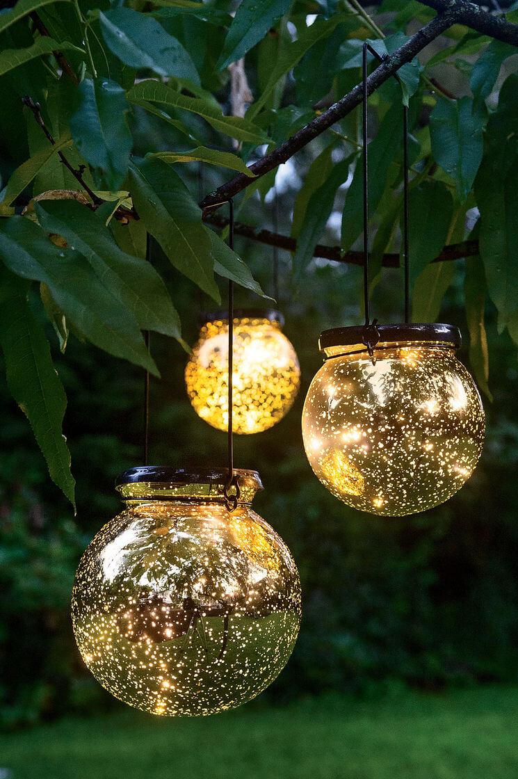 Solar Fairy Dust Tree Globes