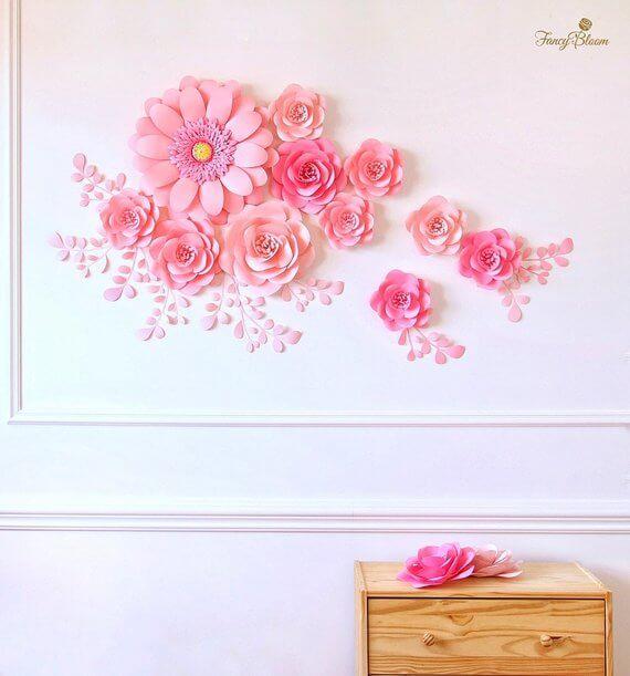 Multi-Designed Fancy Pink Blossoms