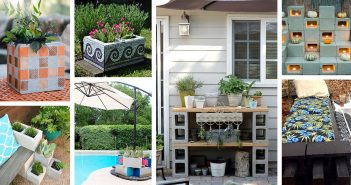 Cinder Block Outdoor Project Ideas