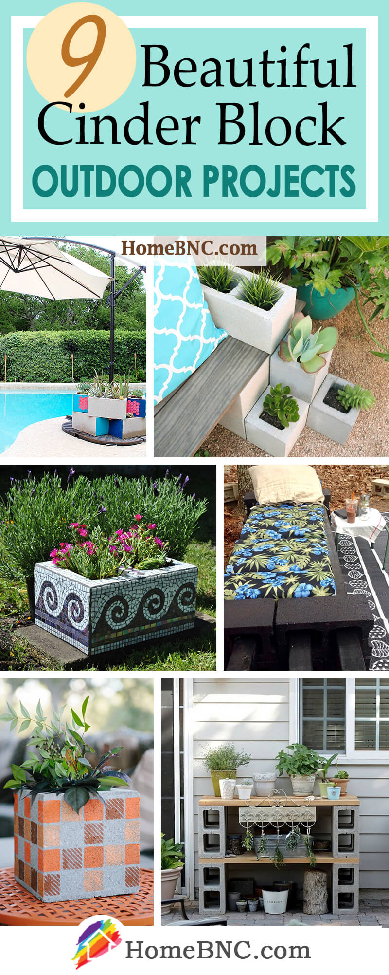Cinder Block Outdoor Projects