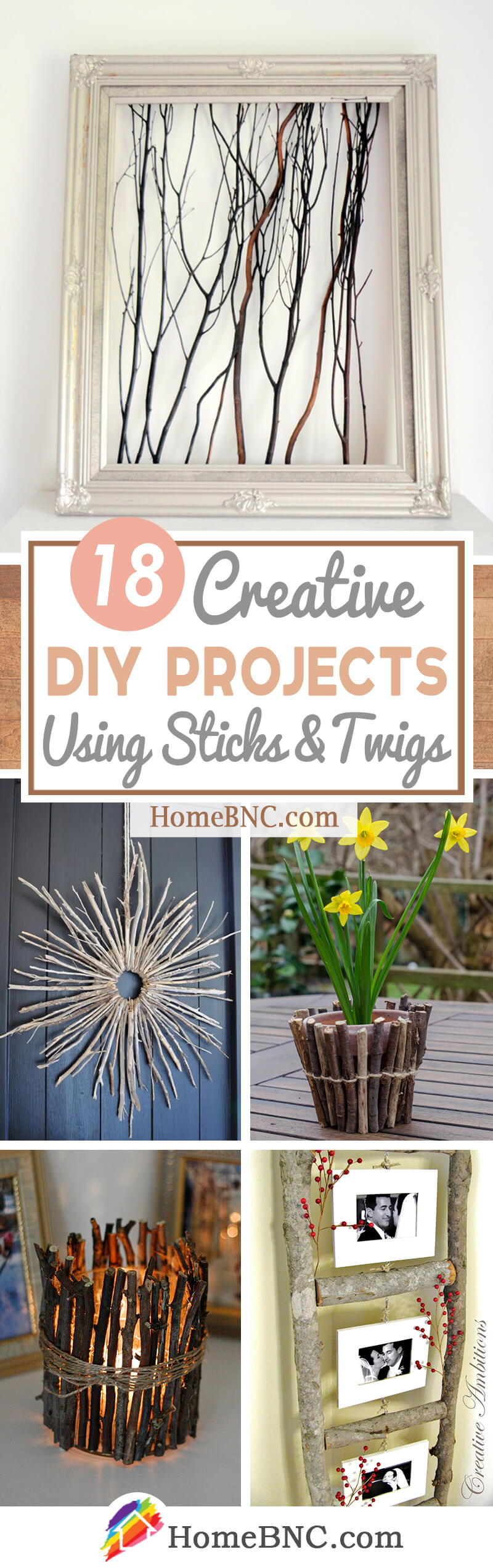 DIY Home and Garden Projects Using Sticks and Twigs