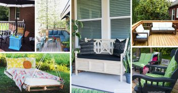 DIY Patio Furniture Projects