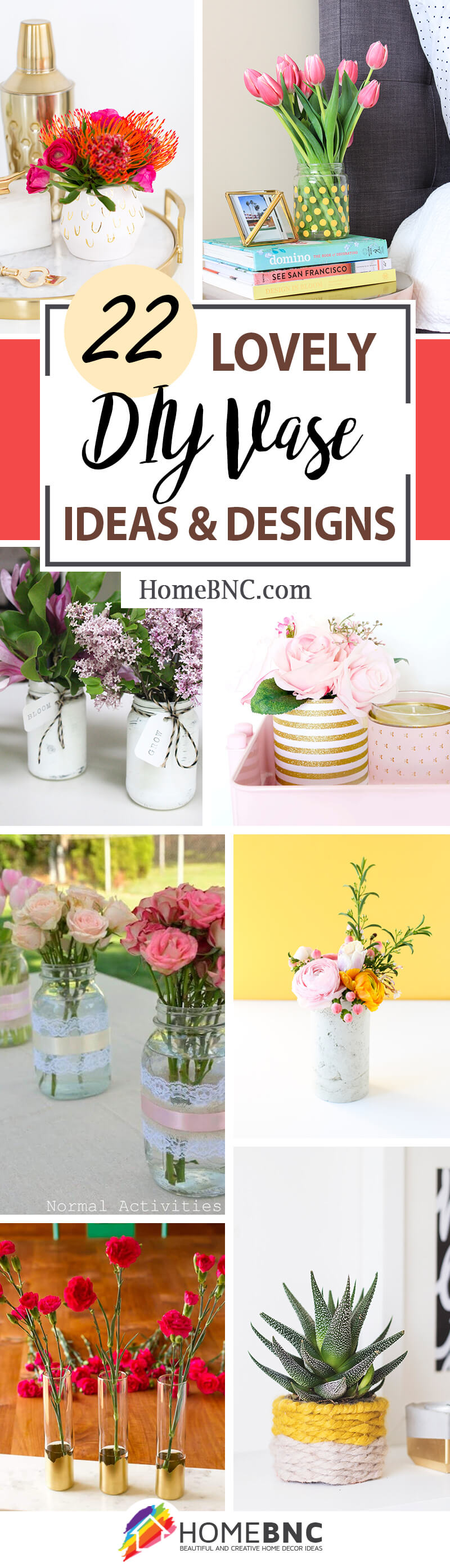 DIY Vase Ideas
