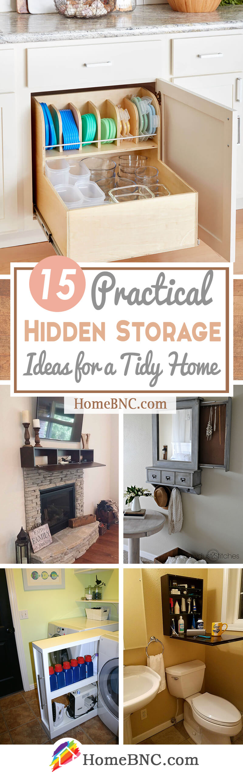 12 Best Hidden Storage Ideas and Designs for 12
