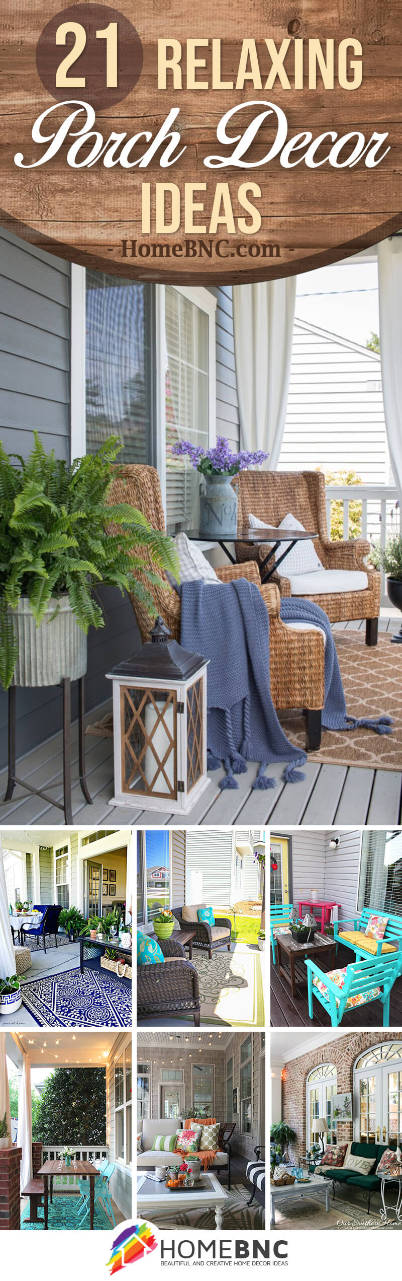Relaxing Porch Decor Ideas