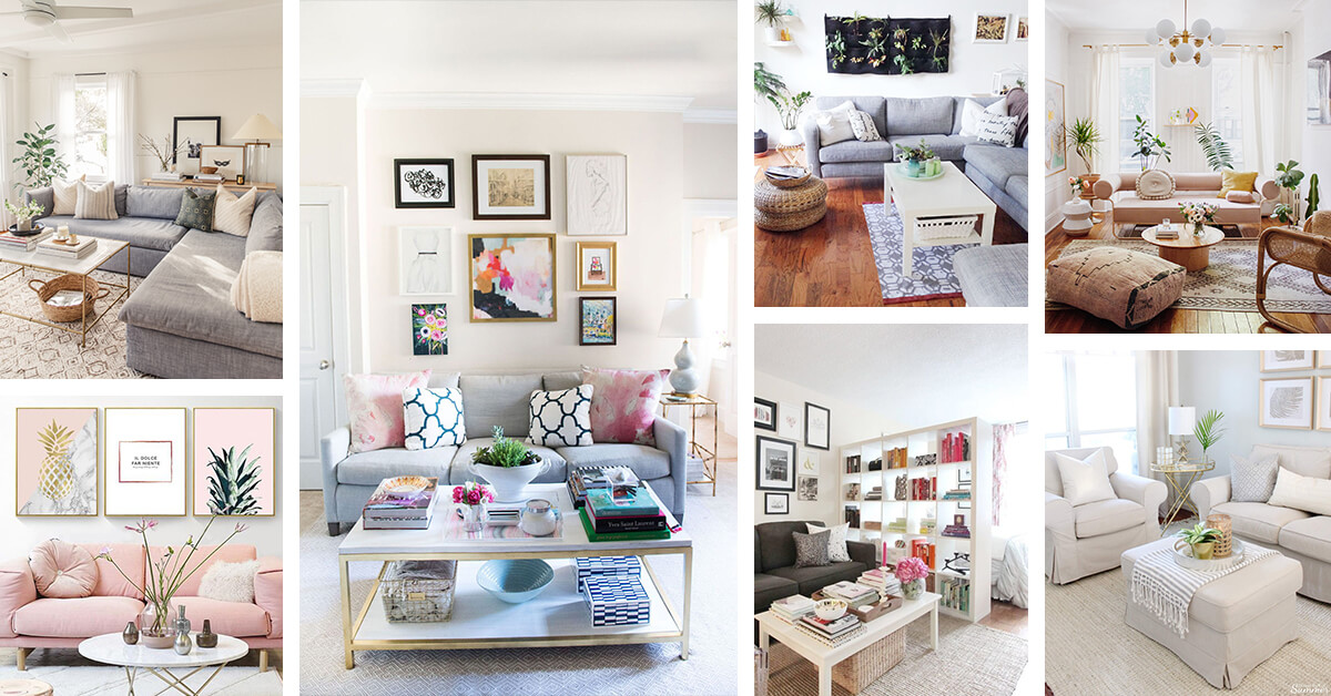 24 Simple Apartment Decoration You Can Steal | Living Room ...