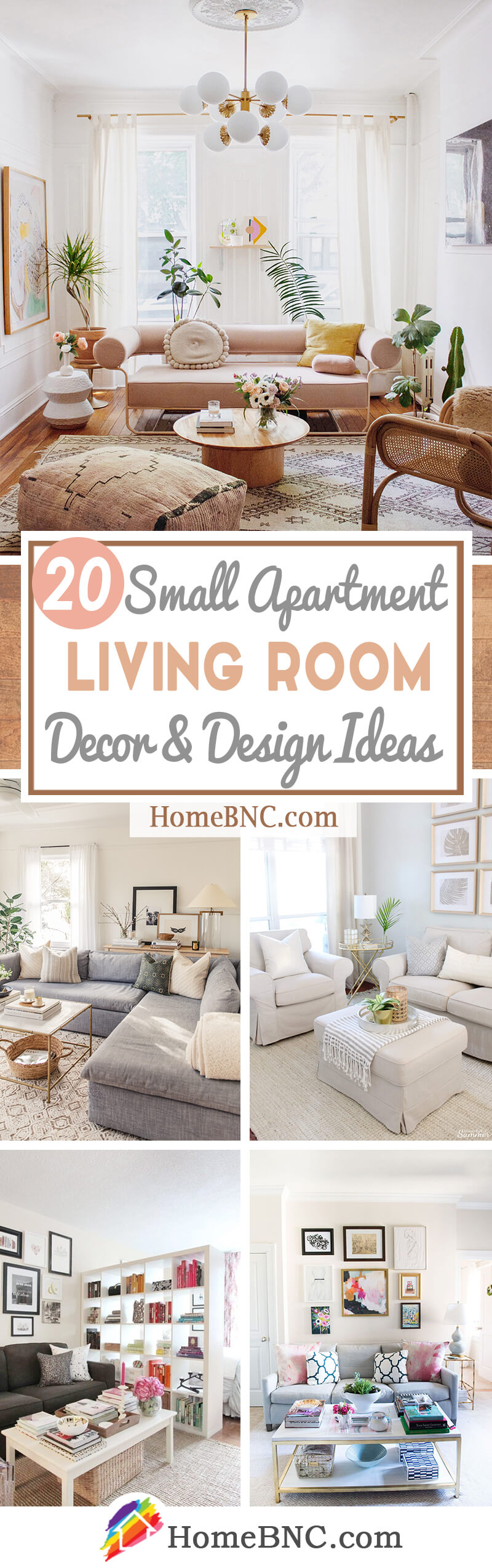 20 Best Small Apartment Living Room Decor and Design Ideas ...