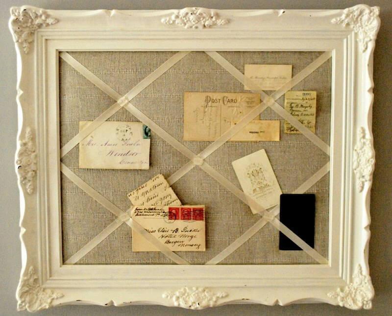 Bulletin Board Organizational Project Using a Frame