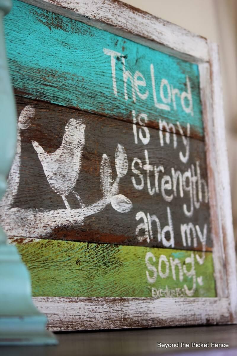 Cute Songbird Bible Verse