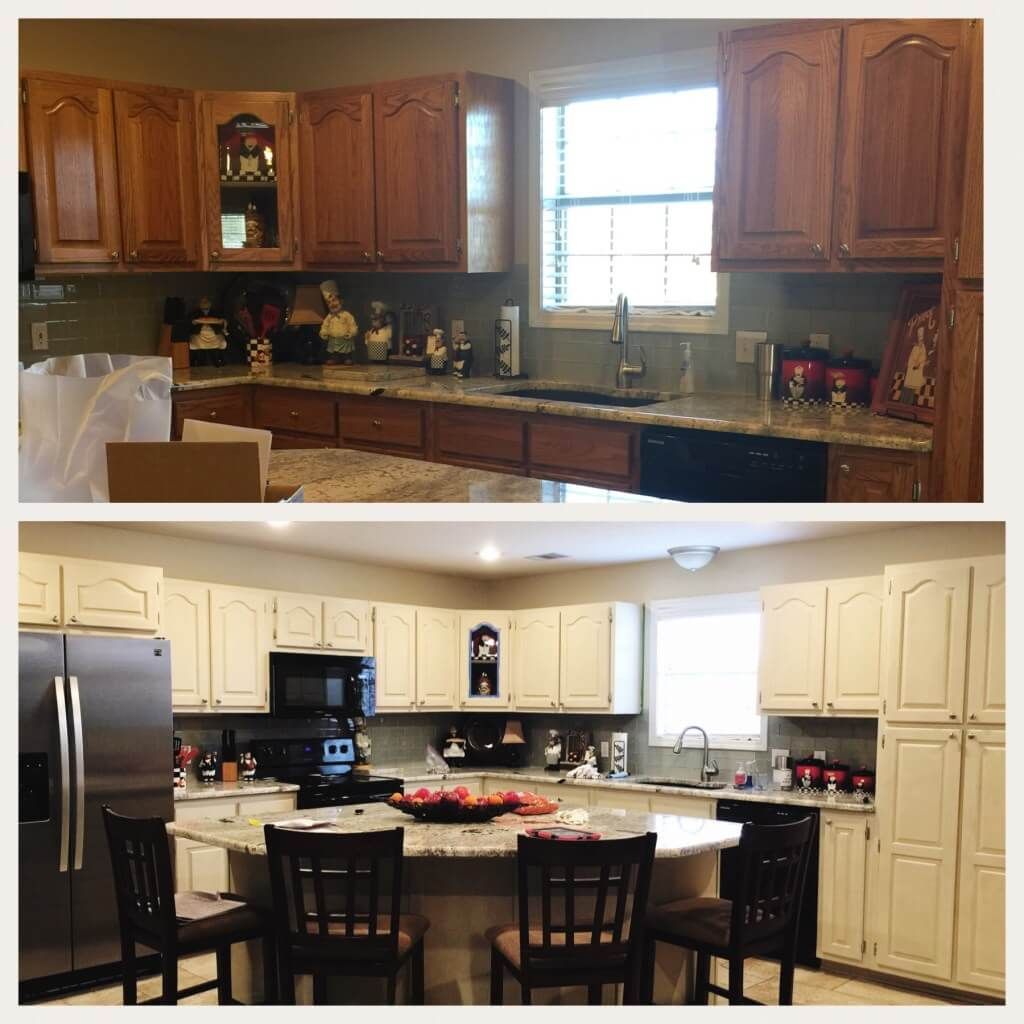 From Bland Brown to Farmhouse Chic