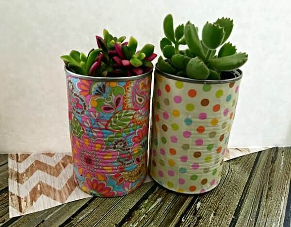 Painted Fun Free Standing Planters