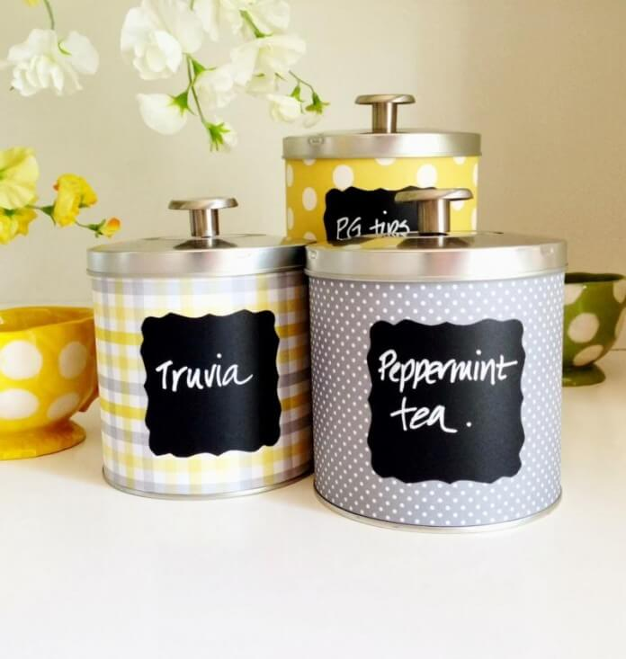 Kitchen Canisters from Home Cooked Meals