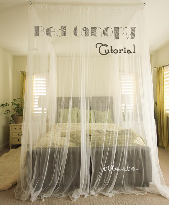 24 Best Canopy Bed Ideas And Designs, Bed Canopy Curtains Ideas