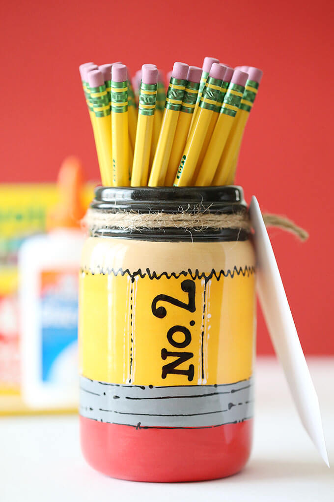 Classroom Pencil Inspired Pencil Holder