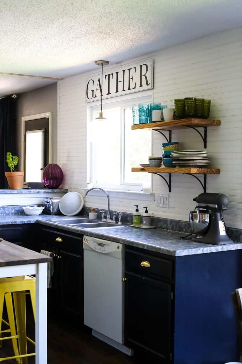 Super Modern Updated Small Kitchen