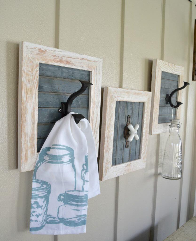 Decorative DIY Hooks for Bathroom Décor