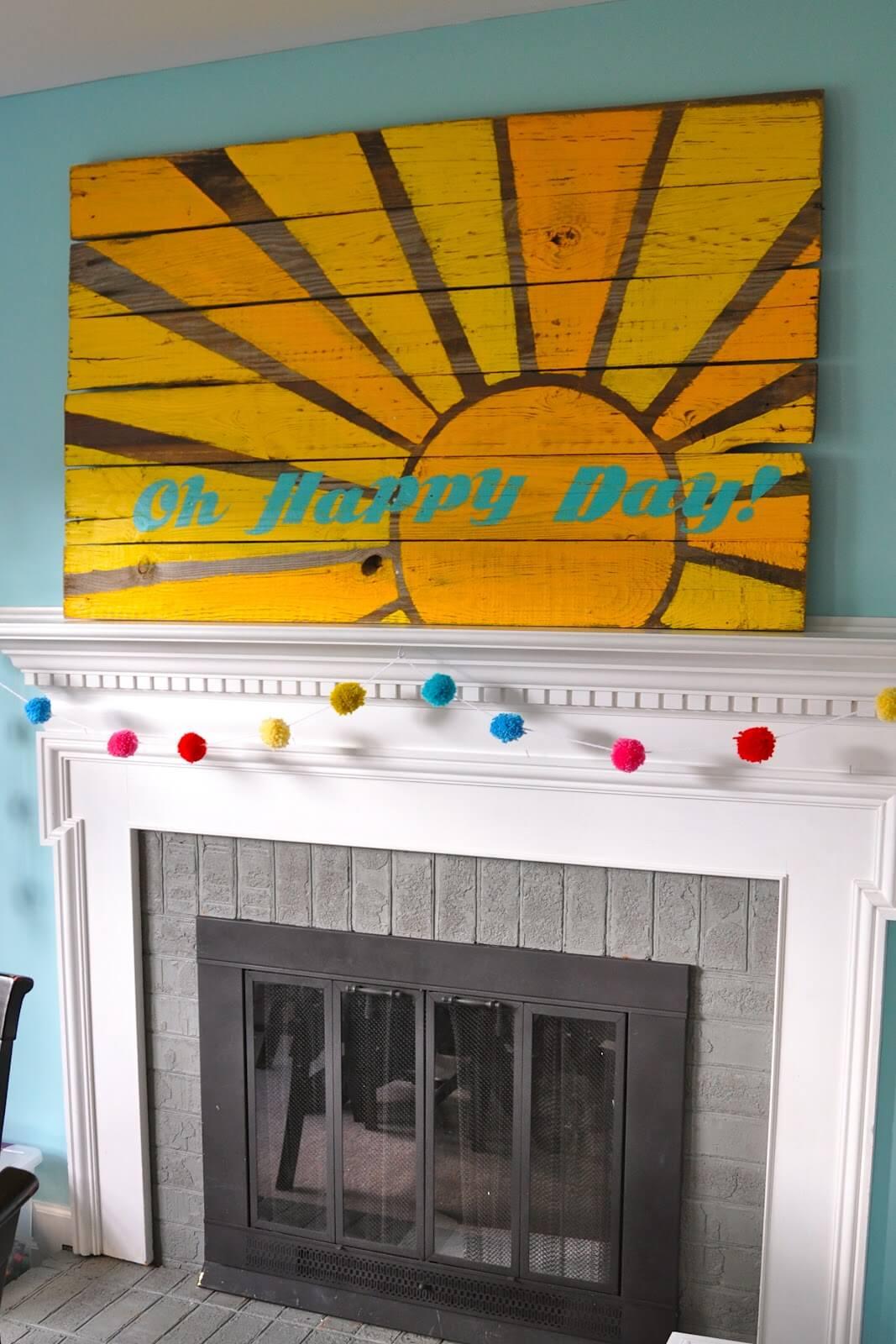 Fun Summertime Sunshine Wall Décor