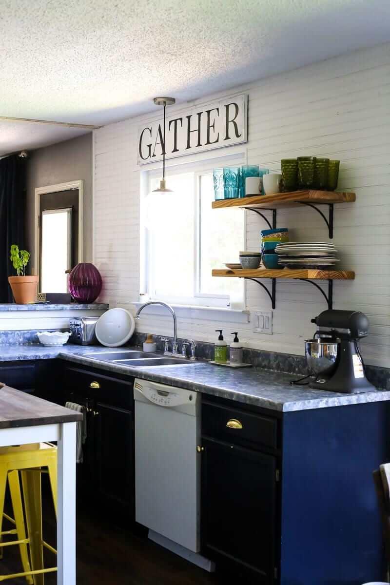 Super Modern Updated Small Kitchen