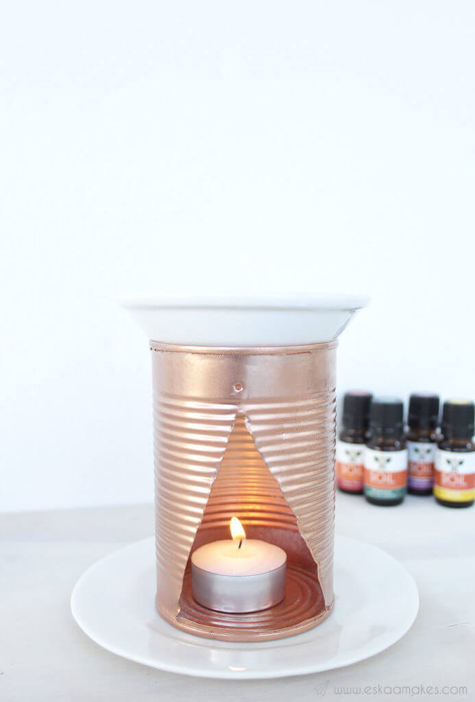 Tin Can Essential Oil Burner