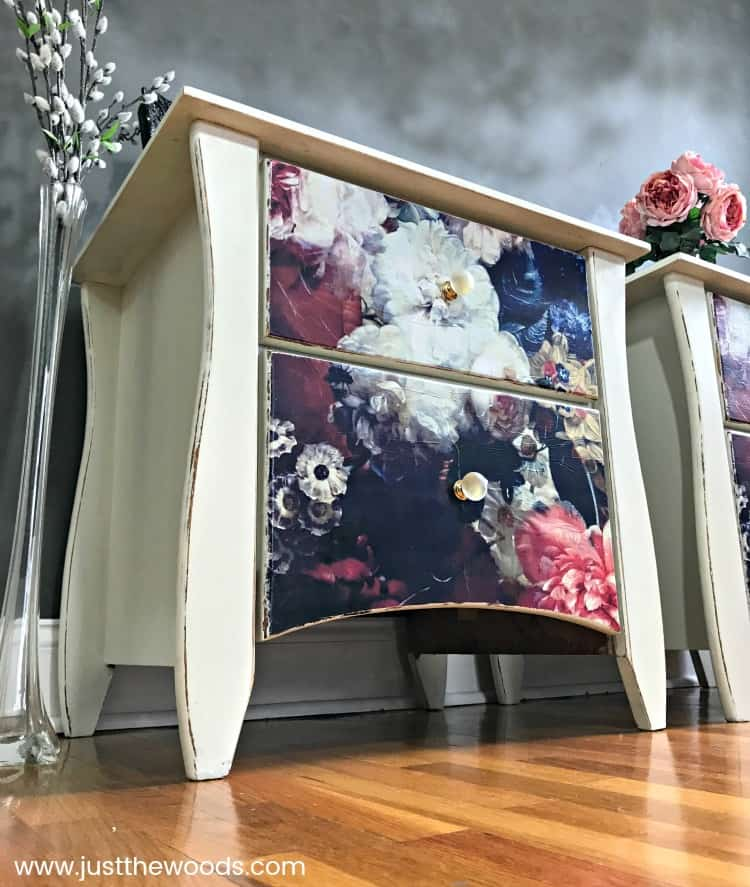 Fabulous Floral Decoupage Furniture