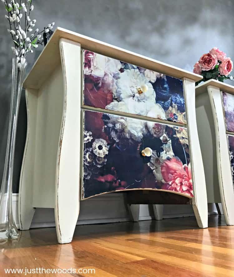 Fabulous Floral Decoupage Furniture