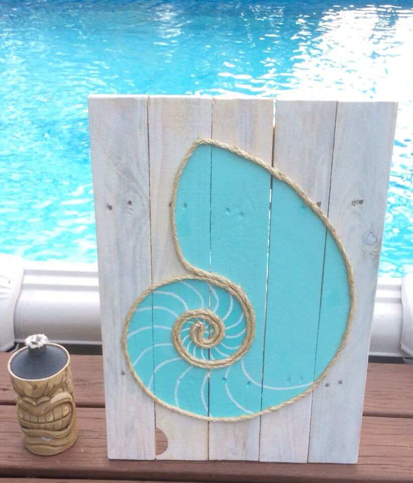 Poolside Paint and Rope Shell