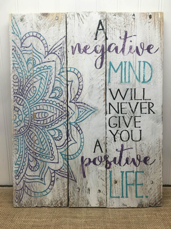Positive Mandala Wall Art