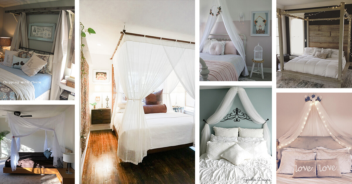 24 Best Canopy Bed Ideas And Designs For 2020