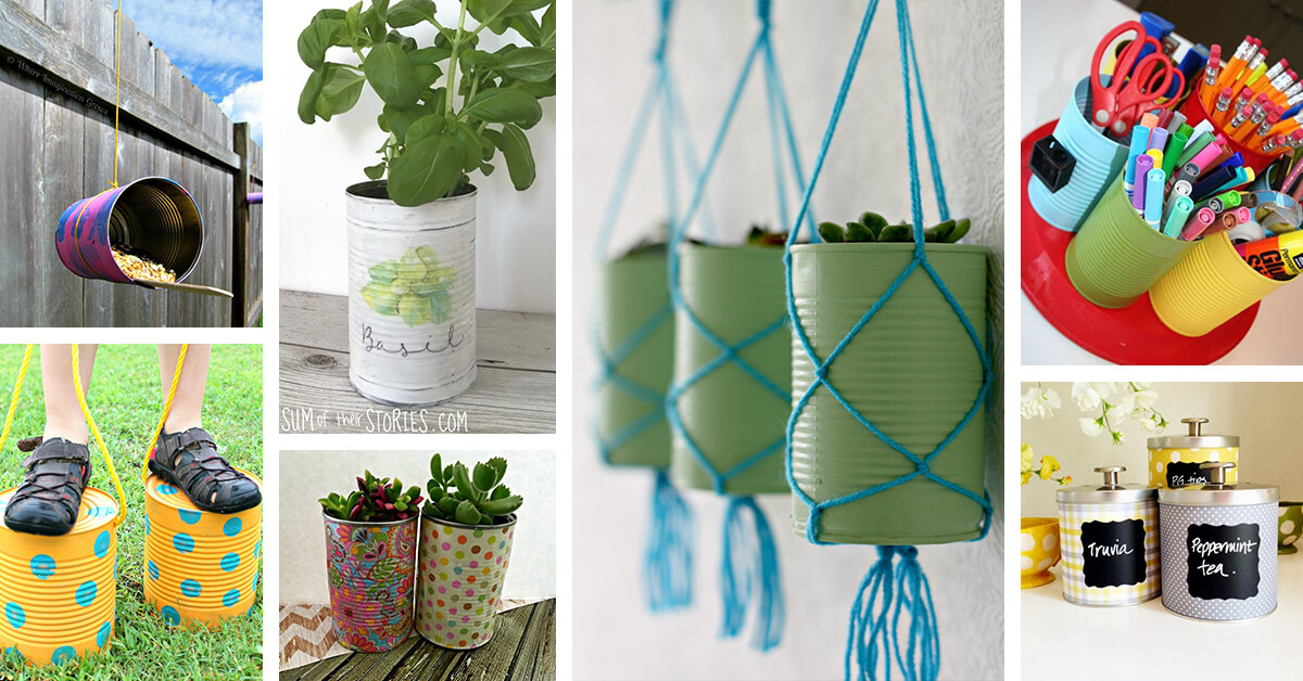 16 Best Diy Tin Can Projects And Ideas For 2021