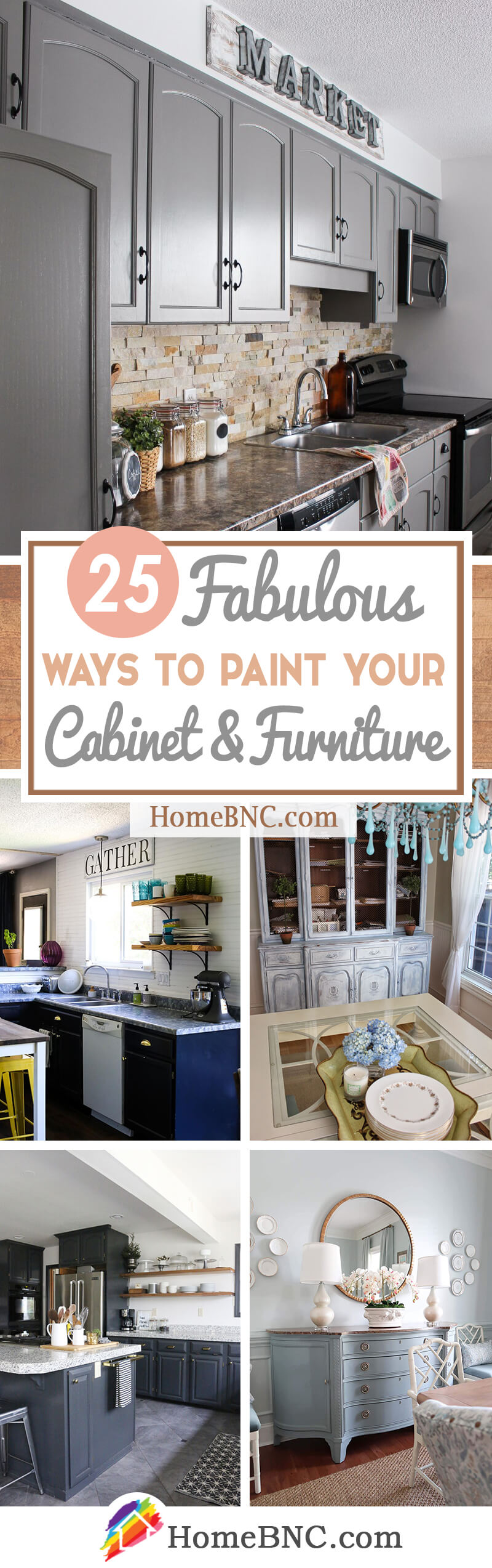 Best Ways to Paint Kitchen Cabinets and Furniture