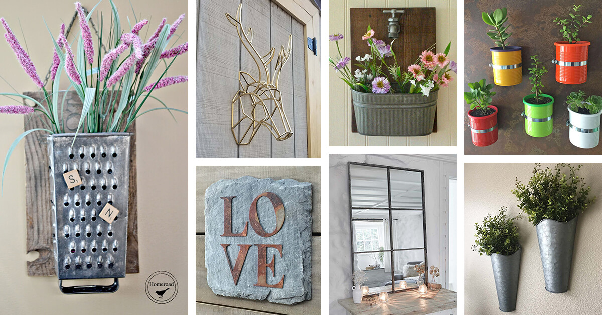 31 Best Metal Wall Decor Ideas And Designs For 2021