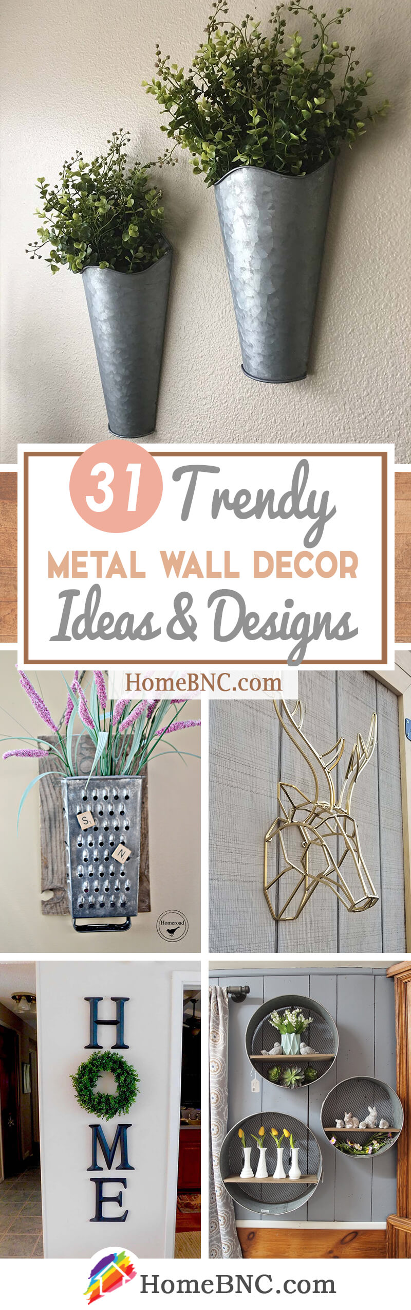 31 Best Metal Wall Decor Ideas And Designs For 2020