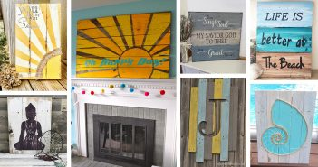 Painted Reclaimed Wood Designs