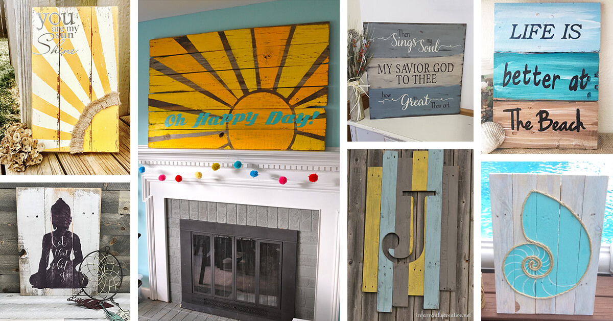 36 Best Painted Reclaimed Wood Ideas And Designs For 2021