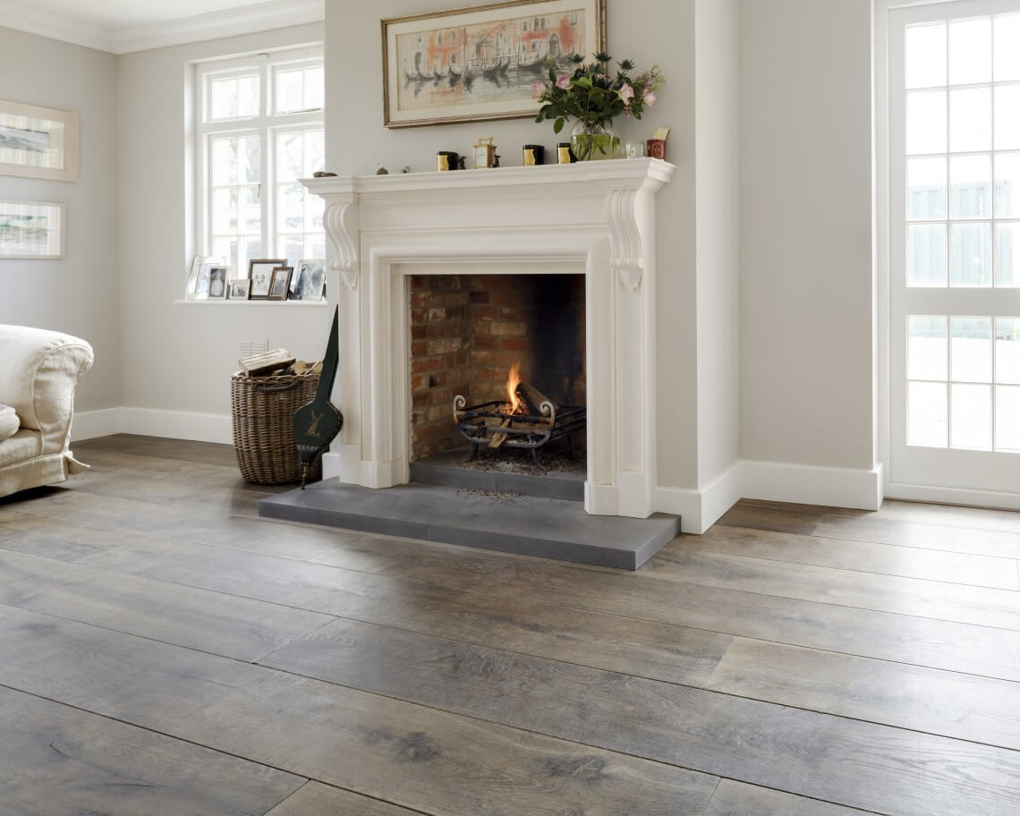 Reclaimed Floors for a Casual, Elegant Look